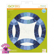 GO! Big 32cm Double Wedding Ring Fabric Cutting Die