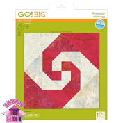 GO! Big 30cm Snail's Tail Fabric Cutting Die
