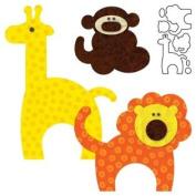 AccuQuilt GO! Zoo Animals
