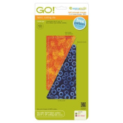 AccuQuilt GO! Rectangle Triangle 7.6cm x 15cm Finished Rectangle