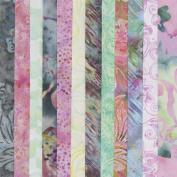 Summer Garden Batiks Colour Story Collection