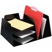 BUDDY PRODUCTS 4102-4 MirageTM Desk Combo - Black