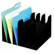 BUDDY PRODUCTS 0560-4 ClassicTM 8 Pocket Slant File - Black
