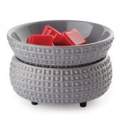 Ceramic Candle Warmer & Dish - Slate