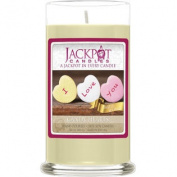 Valentine Candy Hearts Candle with Ring Inside-Size 9