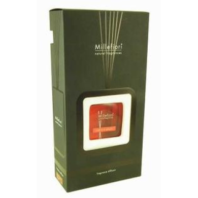 AMBRA SPEZIE FRAME Natural 250 ML Reed Diffuser by Millefiori Milano