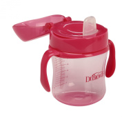 Dr. Brown's Soft-Spout Girls Transition Cup, Pink, 180ml
