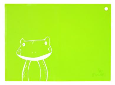 JJ Rabbit siliMAT, Frog/Lime Pop