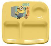 Zak Designs Toddlerific 3-Section Toddler Plate with Minions