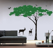 "Pop Decors ""Umbrella Tree"" Beautiful Wall Stickers for Kids Rooms"