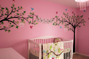 "Pop Decors ""Love Birds"" Beautiful Wall Stickers for Kids Rooms"