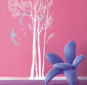 "Pop Decors ""Phoenix in the Forest"" Beautiful Wall Stickers for Kids Rooms"