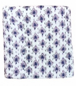 Anora Cotton Baby Quilt★100cm x 100cm Size★Made with Organic Cotton★Soft and Lightweight; Breathable and Absorbent; Durable and Eco Friendly★Handblock Print