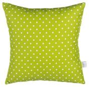 Glenna Jean Pippin Pillow, Green Dot