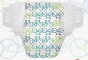 Honest Nappy Size 6 22 Nappies Bicycle Patern