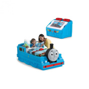 Step2 Thomas the Tank Engine Toddler Bed & Toy Box Bundle
