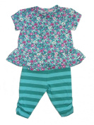 The Children's Place Baby Girl's 0-3 Months Floral Top, Pants Set