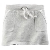 Carter's French Terry Skirt, Lt. Grey, 3t