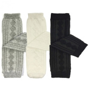 Bowbear 3 Pair Baby and Toddler Argyle Leg Warmers