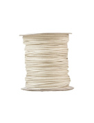 FreshHear Pack of 1 for 80m Waxed Cotton Cord Colour Beige Size 2x2mm