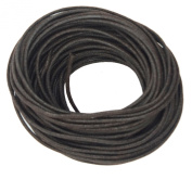 Waxed Cotton Cord Chocolate Brown 2mm Made in USA