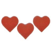 Fuse It! Pre Cut Red Hearts 5.1cm (3) 90coe By Stallings Stained Glass