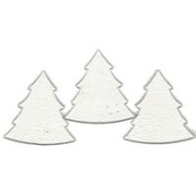 Fuse It! Pre Cut Wide Tree 7.6cm (3) 90coe By Stallings Stained Glass