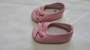 Baby Doll Pretend Play Ballet Flat with Bow Doll Slip ons Assorted Styles and Colours