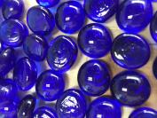 Sun and Moon Glass Gems/ Deep Blue, Small