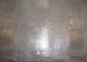 Silver Glossy 2 Tone Gator Heavy Duty PVC Vinyl Fabric Sold By The Yard