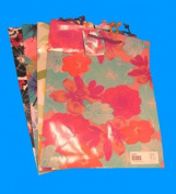 Gift Bag Floral Asst. Large, Case of 12