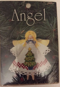 """Counted Cross Stitch Angel Ornament """"Tree"""""""