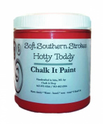 Chalk It Paint Finish for Furniture, Art, Crafts, and More! 240ml Hotty Toddy