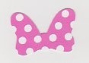 Die Cuts - Disney Minnie Mouse Bows Pink - 20piece