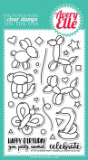 Avery Elle Clear Stamp - More Party Animals