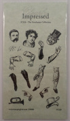 STAMPINGTON & CO THE GENTLEMAN COLLECTION PAPER DOLL WOOD RUBBER STAMP #S7326