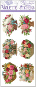 Thelma Victorian Flower Basket Labels