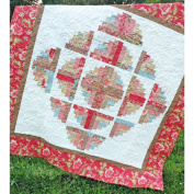 Fascination Curvy Log Cabin Quilt Pattern, by Cut Loose Press