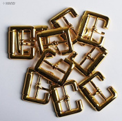 H6236 Metal 23mm Shoe Buckle - 5 Pairs - Assorted Colours