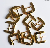 H6303 Metal 28mm Shoe Buckle - 5 pairs