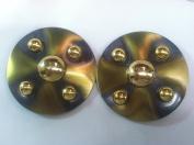 Designer-Belt-Buckle-Polished-Antique Gold-And-Puiter- for 2.5cm - 1.9cm