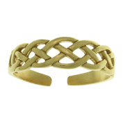 CGC Gold-Plated .925 Sterling Silver Celtic Knot Toe Ring