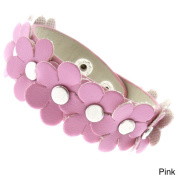 Molly and Emma Imitation Leather Children's Flower Bracelet