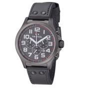 TW Steel Men's TW422 'Pilot' Grey Dial Chronograph Quartz Watch