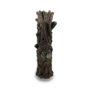 Tree Of Wisdom Incense Tower Green Man and Green Lady Burner Box Statue