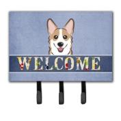 Sable Corgi Welcome Leash or Key Holder BB1439TH68