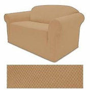 STRETCH FORM FIT 3 Pc Slipcovers Set Couch Sofa Loveseat Chair Covers
