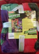 Teenage Mutant Ninja Turtles Blanket Throw 130cm by 150cm Nickeodeon