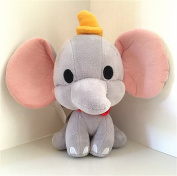 Disney Parks Dumbo Cuties Bobble Plush Doll NEW