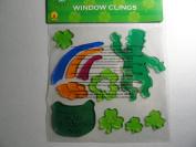 Leprechaun St. Patrick's Day Window Clings